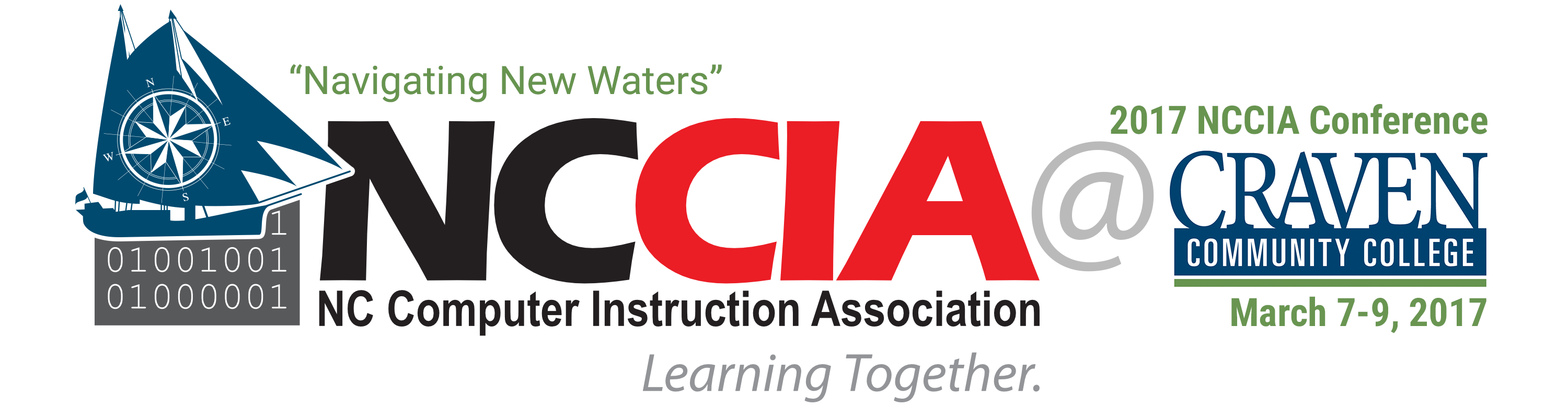 NCCIA Navigating New Waters logo